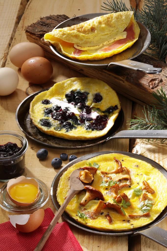 Les omelettes du montagnard - CNPO